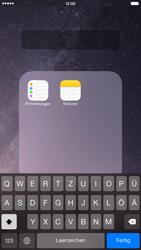 Apple iPhone 6 Plus - iOS 8 - Startanleitung - Personalisieren der Startseite - Schritt 6