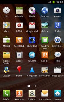 Samsung Galaxy Note - Ausland - Im Ausland surfen – Datenroaming - 1 / 1