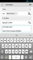 Huawei Ascend G526 - E-Mail - E-Mail versenden - Schritt 10