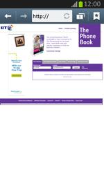 Samsung S7710 Galaxy Xcover 2 - Internet - Internet browsing - Step 13