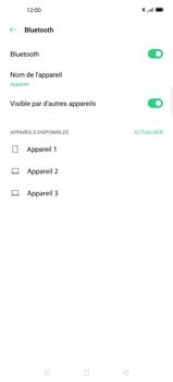 Oppo Find X2 Pro - Internet et connexion - Connexion avec un équipement multimédia via Bluetooth - Étape 7