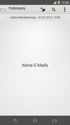 Sony Xperia Z1 Compact - E-Mail - Konto einrichten - 18 / 20
