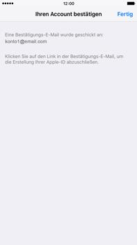 Apple iPhone 6 Plus - Apps - Konto anlegen und einrichten - 35 / 38