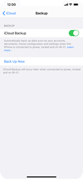 Apple iPhone 11 - Data - Create a backup with your account - Step 12