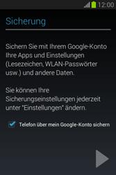Samsung Galaxy Fame Lite - Apps - Einrichten des App Stores - Schritt 25