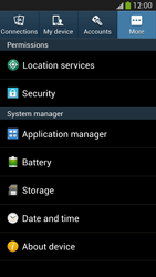 Samsung Galaxy S III LTE - Applications - How to uninstall an app - Step 5