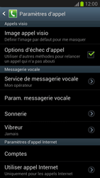 Samsung N7100 Galaxy Note II - Messagerie vocale - Configuration manuelle - Étape 4