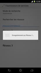 Sony Xperia Z1 Compact - Réseau - Sélection manuelle du réseau - Étape 9