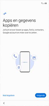 Samsung galaxy-xcover-pro-sm-g715fn - Instellingen aanpassen - Nieuw toestel instellen - Stap 10
