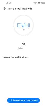 Huawei P40 Lite 5G - Aller plus loin - Mettre à jour le logiciel interne de votre mobile - Étape 7