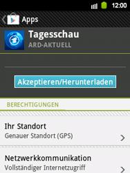 Samsung S5360 Galaxy Y - Apps - Herunterladen - Schritt 10