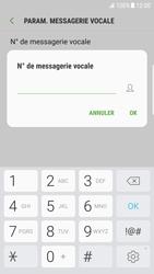 Samsung Galaxy S6 Edge - Android Nougat - Messagerie vocale - configuration manuelle - Étape 10