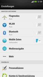 HTC Desire 601 - WLAN - Manuelle Konfiguration - Schritt 4