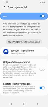 Samsung Galaxy S20 5G Dual-SIM eSIM SM-G981B - Beveiliging en ouderlijk toezicht - Zoek mijn mobiel inschakelen - Stap 8