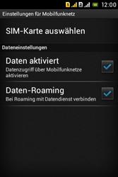 Sony Xperia Tipo Dual - Ausland - Auslandskosten vermeiden - 8 / 9