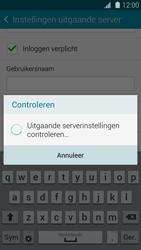 Samsung G800F Galaxy S5 Mini - E-mail - Account instellen (IMAP met SMTP-verificatie) - Stap 15