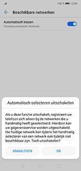 Huawei P20 Lite - Netwerk - Handmatig een netwerk selecteren - Stap 7