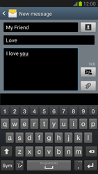 Samsung N7100 Galaxy Note II - MMS - Sending pictures - Step 10