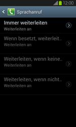 Samsung Galaxy S2 mit Android 4.1 - Anrufe - Rufumleitungen setzen und löschen - 0 / 0