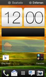 HTC One SV - Startanleitung - Installieren von Widgets und Apps auf der Startseite - Schritt 5