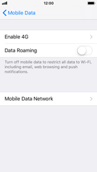 Apple iPhone 5s - iOS 11 - Internet and data roaming - Disabling data roaming - Step 6