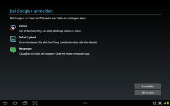 Samsung Galaxy Tab 2 10.1 - Apps - Einrichten des App Stores - Schritt 11