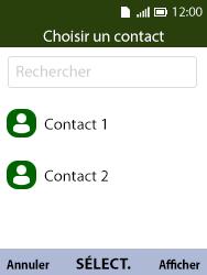 Alcatel 3088X - Contact, Appels, SMS/MMS - Envoyer un SMS - Étape 6