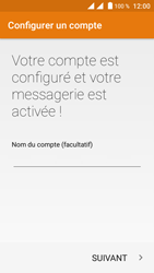 Crosscall Trekker M1 Core - E-mail - Configuration manuelle (outlook) - Étape 12