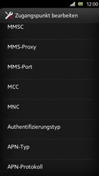 Sony Xperia U - Internet und Datenroaming - Manuelle Konfiguration - Schritt 13