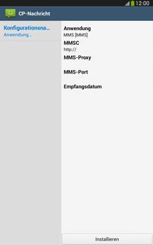Samsung Galaxy Tab 3 8-0 LTE - MMS - Automatische Konfiguration - 1 / 1