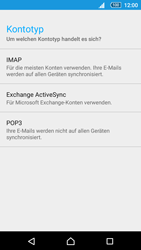 Sony Xperia Z5 Compact - E-Mail - Manuelle Konfiguration - Schritt 10