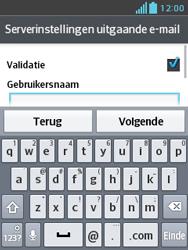 LG E430 Optimus L3 II - E-mail - e-mail instellen: IMAP (aanbevolen) - Stap 18