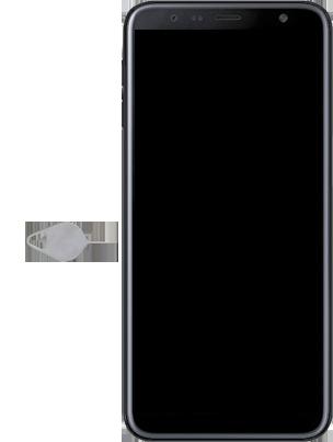 Samsung Galaxy J6 Plus - Premiers pas - Insérer la carte SIM - Étape 2
