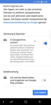 Samsung Galaxy S9 - Apps - Konto anlegen und einrichten - 19 / 21