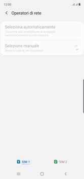 Samsung Galaxy Note 10 - Rete - Selezione manuale della rete - Fase 10