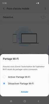 Samsung Galaxy S10 - Internet et connexion - Partager votre connexion en Wi-Fi - Étape 7