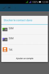 Alcatel Pixi 3 Dual Sim - Contact, Appels, SMS/MMS - Ajouter un contact - Étape 5