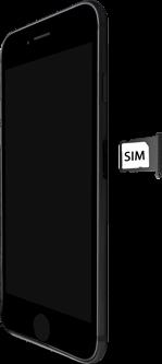 Apple iphone-8-met-ios-13-model-a1905 - Instellingen aanpassen - SIM-Kaart plaatsen - Stap 4