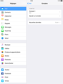 Apple iPad mini 4 iOS 10 - E-mail - Configuration manuelle - Étape 18