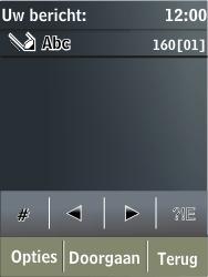 Nokia X3-02 - MMS - Afbeeldingen verzenden - Stap 4