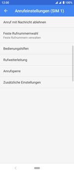 Sony Xperia 10 - Anrufe - Rufumleitungen setzen und löschen - Schritt 8