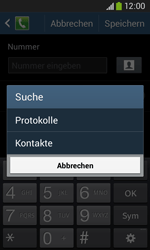 Samsung S7275 Galaxy Ace 3 - Anrufe - Anrufe blockieren - Schritt 10
