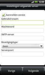 HTC S510e Desire S - E-mail - Handmatig instellen - Stap 9