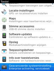 BlackBerry 9810 Torch - Instellingen - ontvangen via SMS - Stap 5