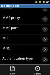 Samsung S6500D Galaxy Mini 2 - MMS - Manual configuration - Step 14