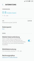 Samsung Galaxy S6 - Android Nougat - Internet und Datenroaming - Prüfen, ob Datenkonnektivität aktiviert ist - Schritt 7