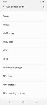 Samsung Galaxy A70 - MMS - Manual configuration - Step 12