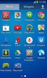 Samsung Galaxy Trend Plus - Apps - Konto anlegen und einrichten - 3 / 28