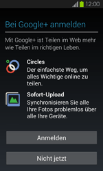 Samsung I9100 Galaxy S2 mit Android 4.1 - Apps - Konto anlegen und einrichten - Schritt 15