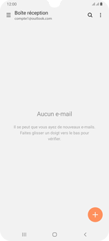 Samsung Galaxy A70 - E-mail - 032c. Email wizard - Outlook - Étape 5